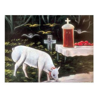 Niko Pirosmani -Lamb & Easter Table, Flying Angels Post Cards