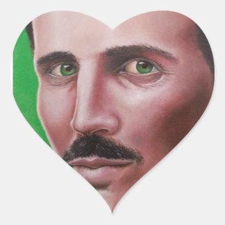 Nikola Heart Sticker