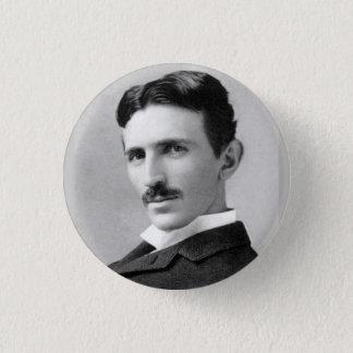 Nikola Tesla 1 Inch Round Button