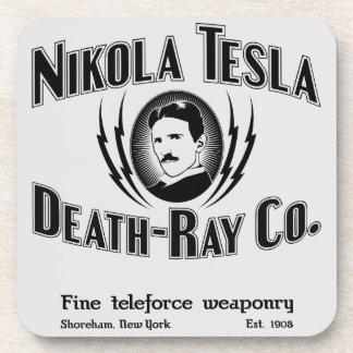 Nikola Tesla Death-Ray Co. Coasters