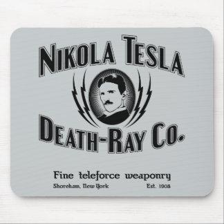 Nikola Tesla Death-Ray Co. Mouse Pad