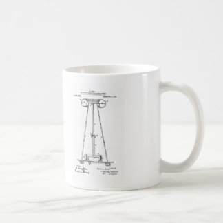 Nikola Tesla Energy Transmission Pantent US1119732 Coffee Mug
