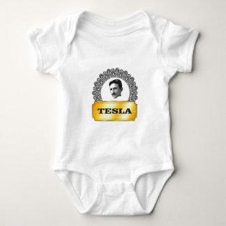 nikola tesla gold baby bodysuit