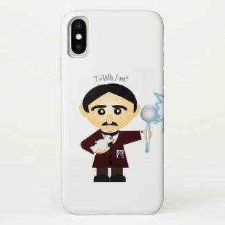 Nikola Tesla iPhone X Case
