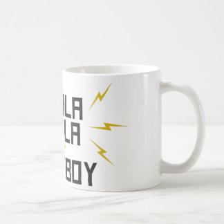 Nikola Tesla is My Homeboy Basic White Mug