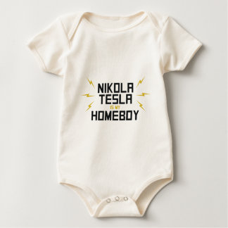 Nikola Tesla is My Homeboy Bodysuit