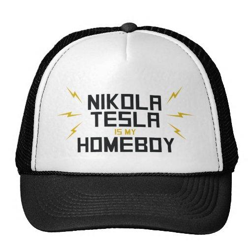 Nikola Tesla is My Homeboy Mesh Hats