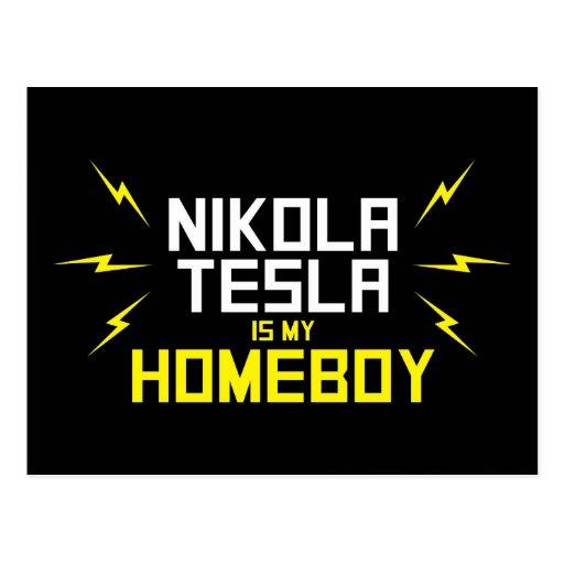 Nikola Tesla is My Homeboy Postcards
