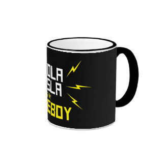 Nikola Tesla is My Homeboy Ringer Mug