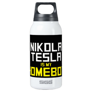 Nikola Tesla is My Homeboy SIGG Thermo 0.3L Insulated Bottle