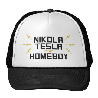 Nikola Tesla is My Homeboy Trucker Hat