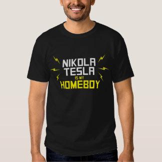 Nikola Tesla is My Homeboy Tshirt