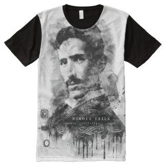 Nikola Tesla, Master of Lightning All-Over-Print T-Shirt