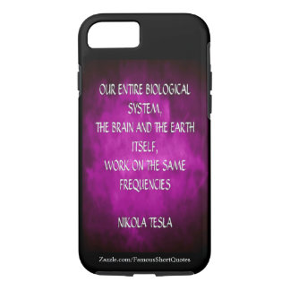 Nikola Tesla Quote - Same Frequencies Case-Mate iPhone Case