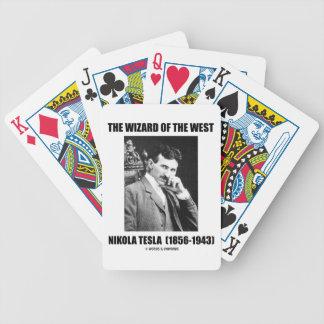 Nikola Tesla The Wizard Of The West Poker Deck