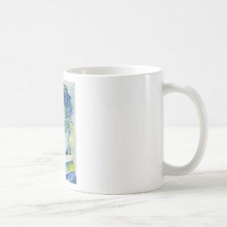 nikola tesla - watercolor portrait.1 coffee mug