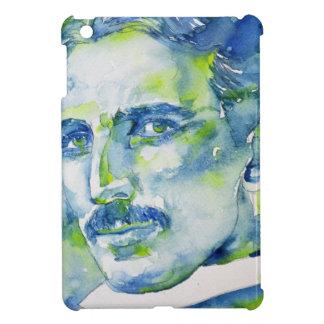nikola tesla - watercolor portrait.1 cover for the iPad mini