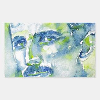 nikola tesla - watercolor portrait.1 sticker