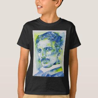 nikola tesla - watercolor portrait.1 T-Shirt