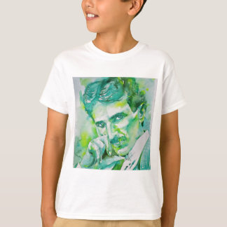 nikola tesla - watercolor portrait.2 T-Shirt