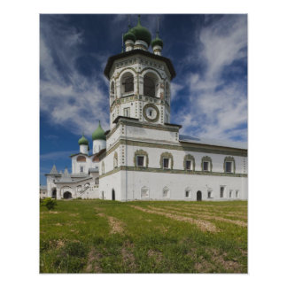 Nikola-Vyazhischi Convent Poster