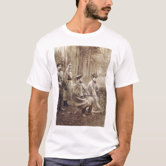 Nikolai II during hunting T-Shirt
