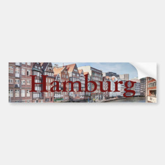 Nikolaifleet, Hamburg, Germany Bumper Sticker