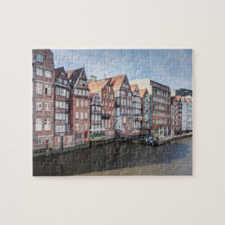 Nikolaifleet, Hamburg, Germany Jigsaw Puzzle