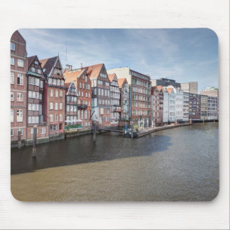 Nikolaifleet, Hamburg, Germany Mouse Pad