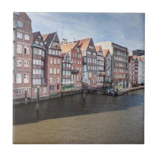 Nikolaifleet, Hamburg, Germany Tile