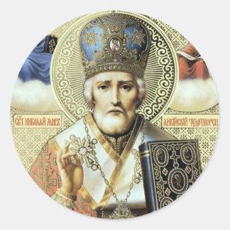 Nikolaos of Myra Classic Round Sticker