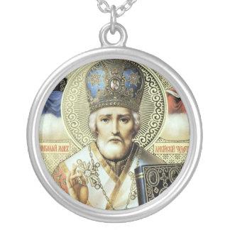 Nikolaos of Myra Silver Plated Necklace