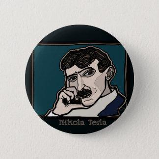 NikolaTesla 2 Inch Round Button