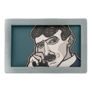 NikolaTesla Belt Buckle