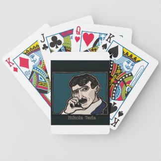 NikolaTesla Bicycle Playing Cards