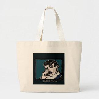 NikolaTesla Large Tote Bag