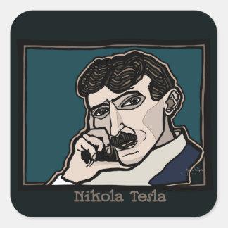 NikolaTesla Square Sticker