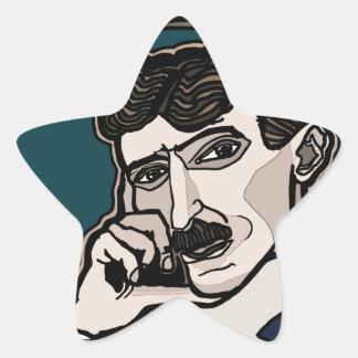 NikolaTesla Star Sticker