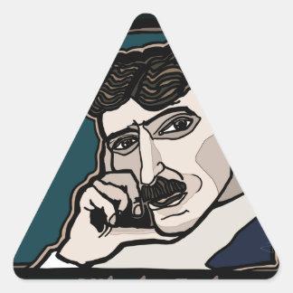 NikolaTesla Triangle Sticker