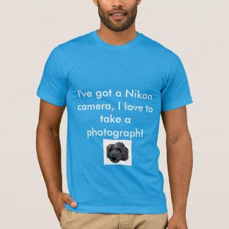 Nikon Camera T-Shirt