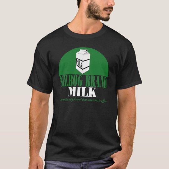 Nilbog Brand Milk T-Shirt