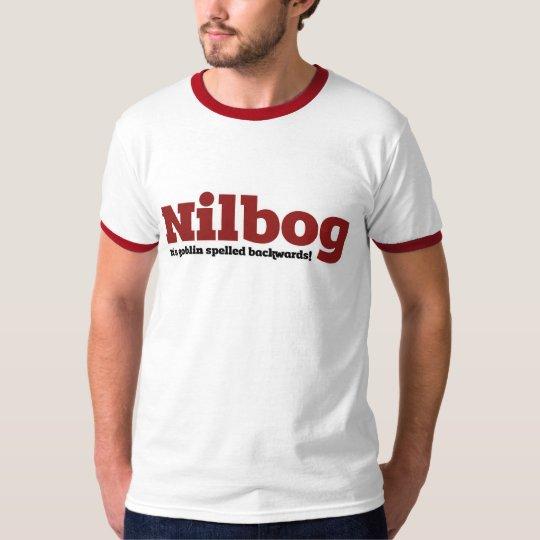 Nilbog it's goblin spelled backwards T-Shirt