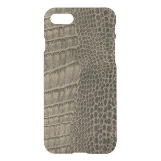 Nile Crocodile Classic Reptile Leather (Faux) iPhone 7 Case
