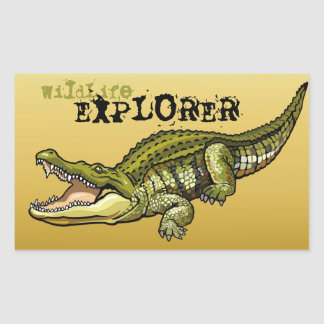 nile crocodile sticker
