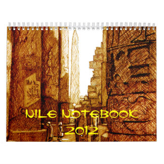 Nile Notebook - Calendar