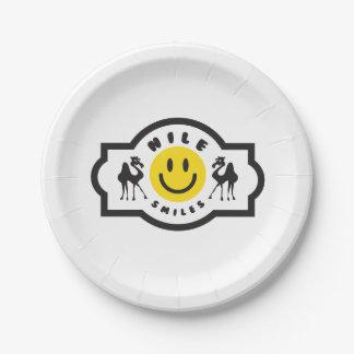Nile Smiles Paper Plates