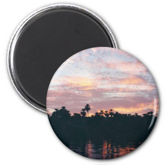 Nile sunset magnet