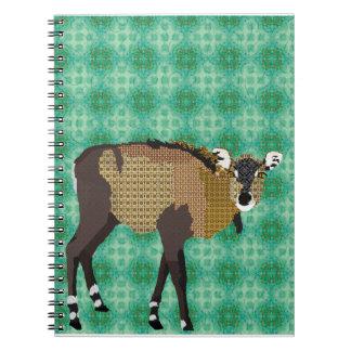 Nilgi Art Green Notebook