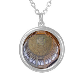 Nilometer Final Silver Plated Necklace