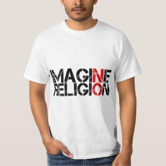 N'imaginez aucune religion t-shirt